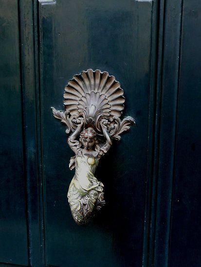 elegant door knocker.. redbubble.com housebeautiful.com | Home ...