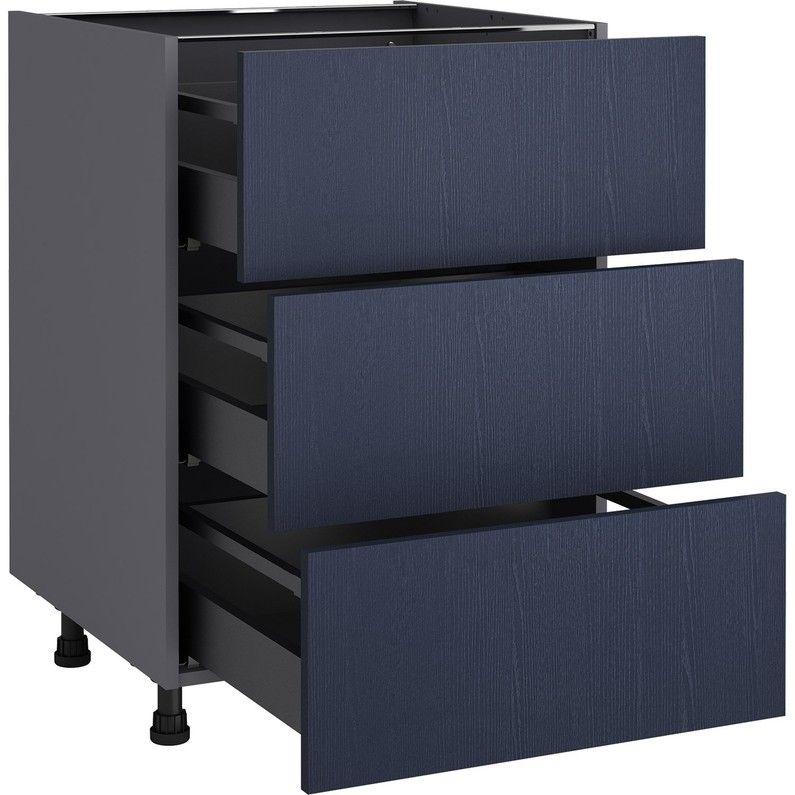 Meuble Bas De Cuisine 3 Tiroirs 1 Porte En Manguier Massif En 2019 Products Furniture Filing Cabinet Et Cabinet