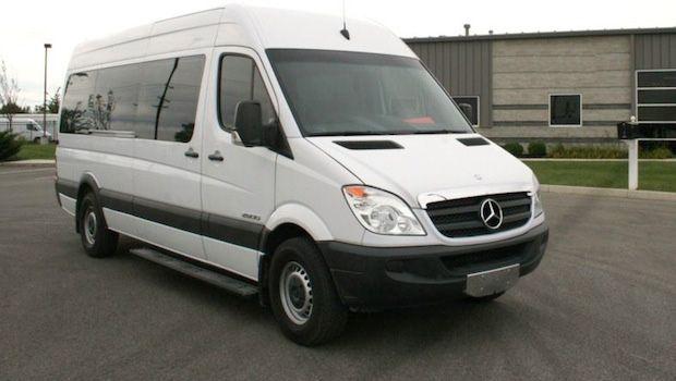 Sprinter Van Mobile Meeting Room Experiential Vehicles