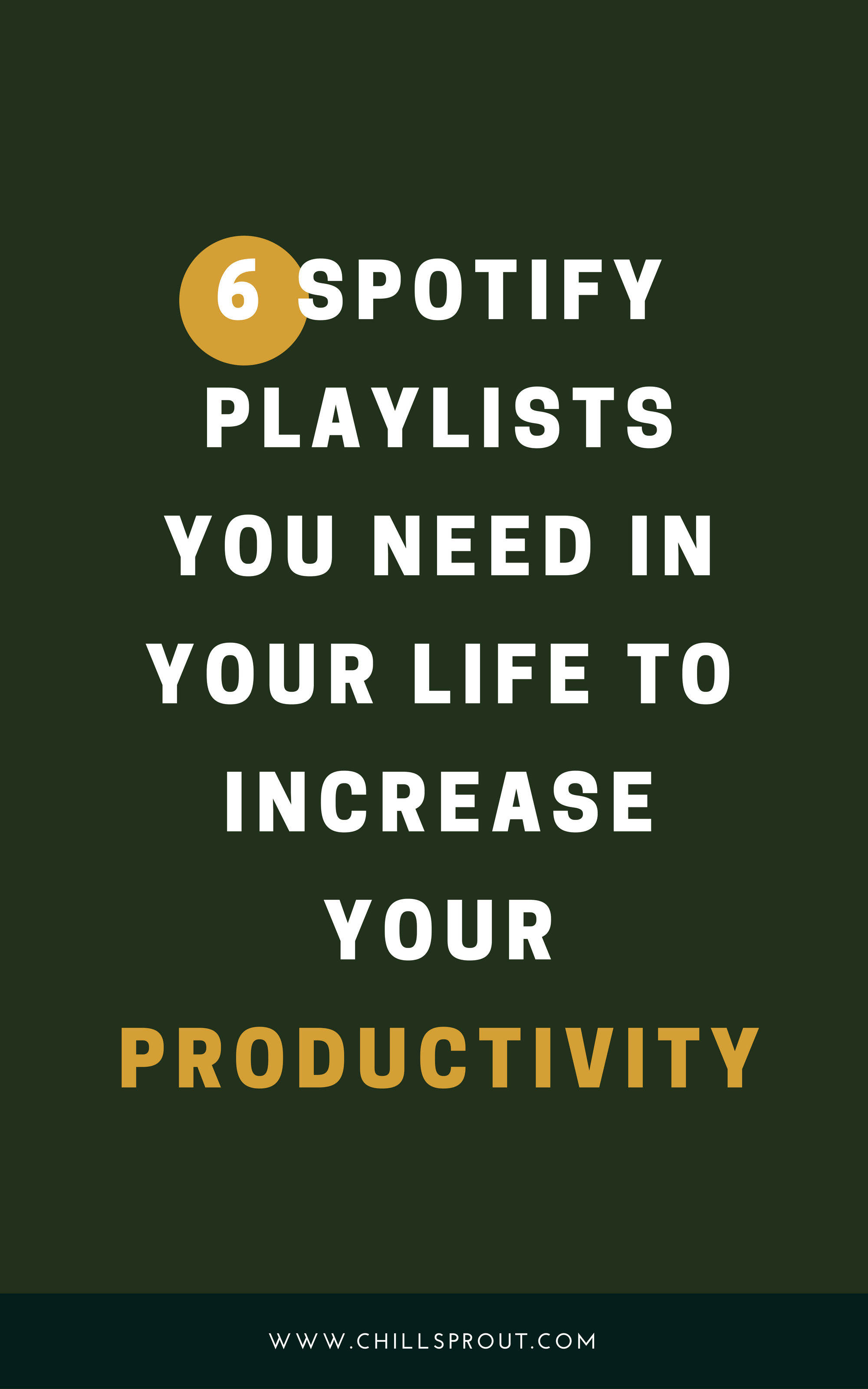 Spotify Playlists You Need In Your Life To Increase Your
