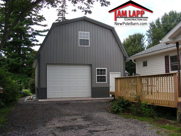 Pole building in fairhaven new york pole barns Residential pole barn kits