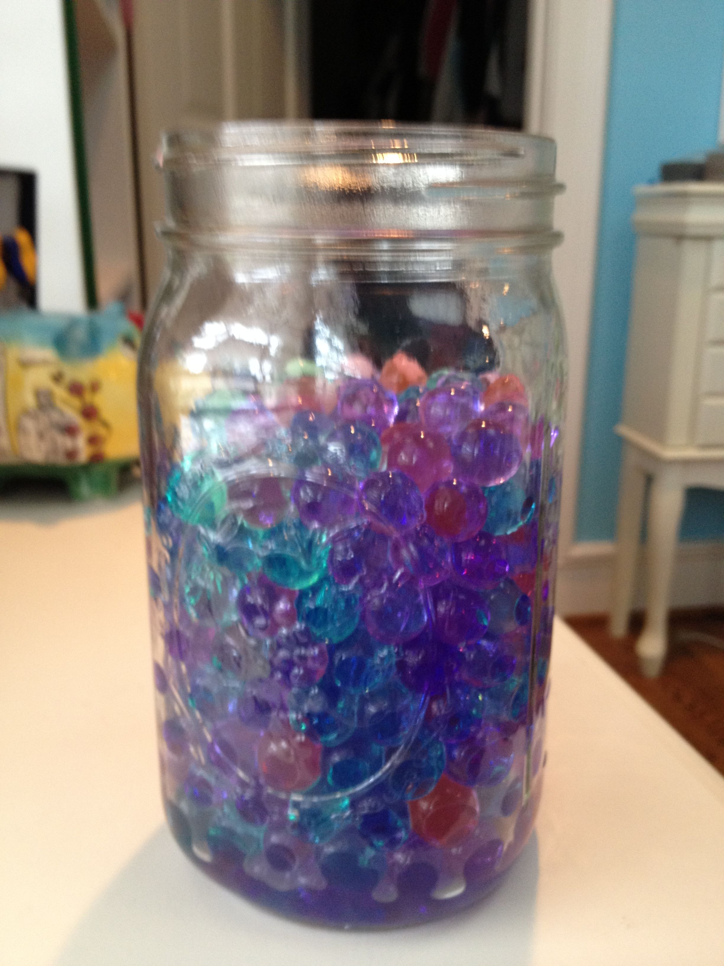Orbeez In A Mason Jar