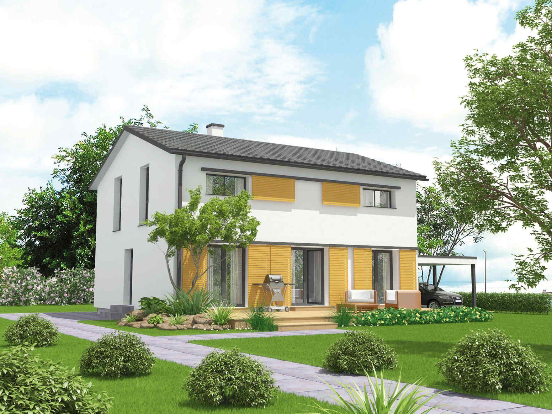 vario haus novum gibtdemlebeneinzuhause einfamilienhaus fertighaus fertigteilhaus. Black Bedroom Furniture Sets. Home Design Ideas