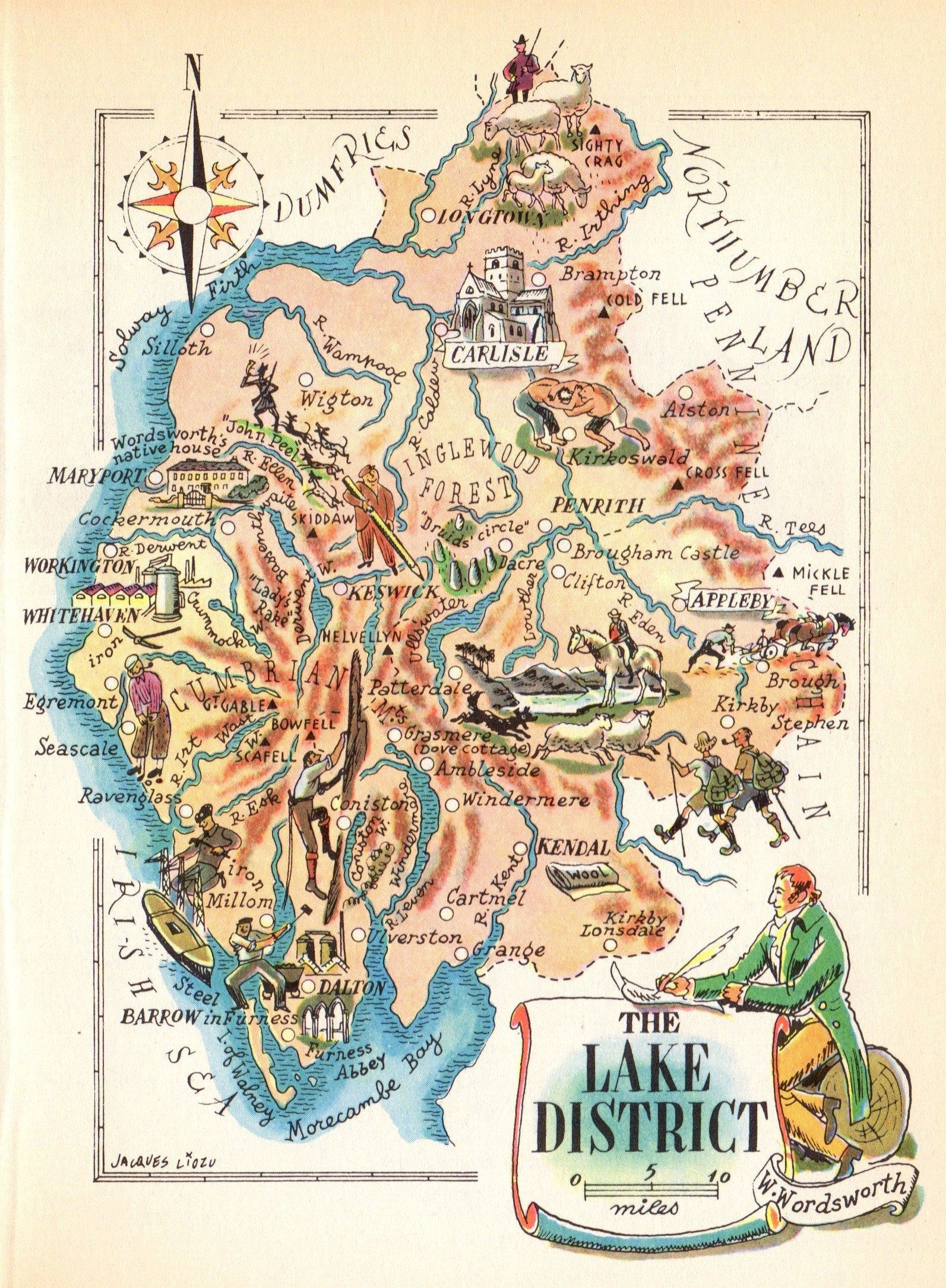 Vintage Posters Lake District