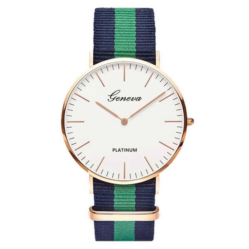 Nylon strap Women Watch Top Brand Fashion Casual Watches