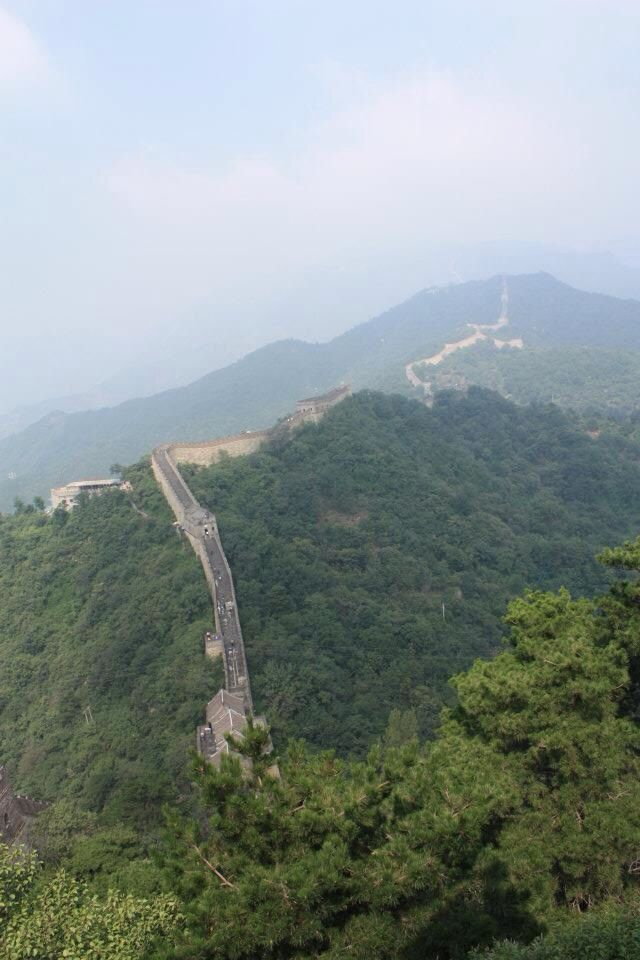Walked along The Great Wall of China.