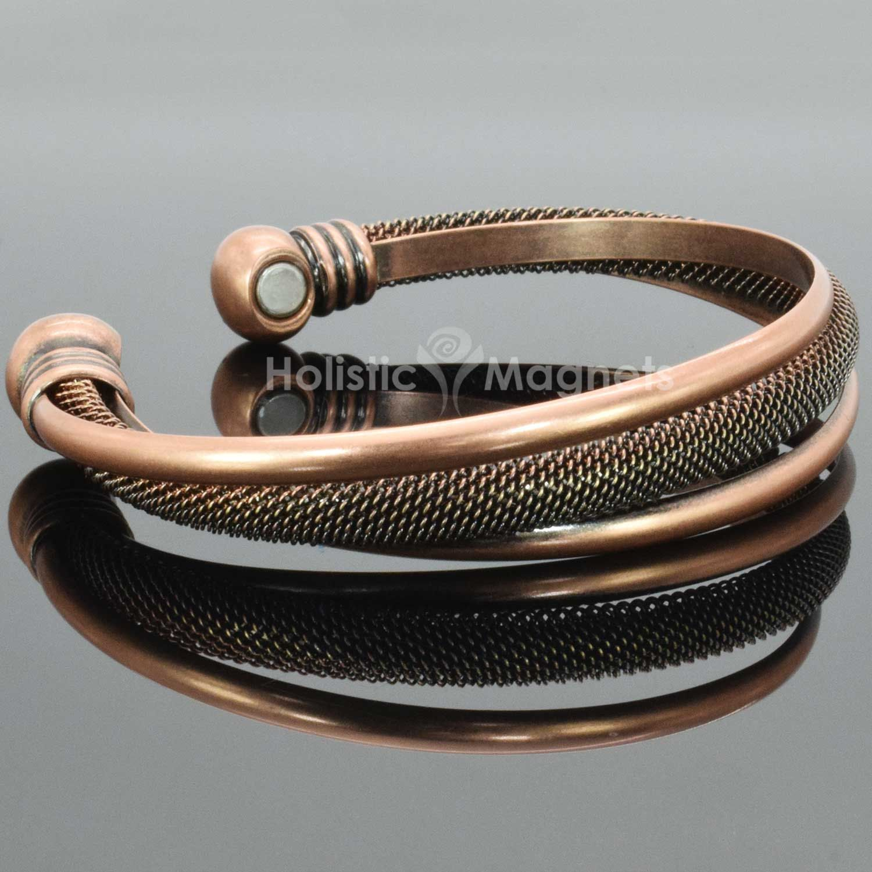 Copper Bracelet Women Womens Magnetic Bracelets Jewelry Boho Byzantine