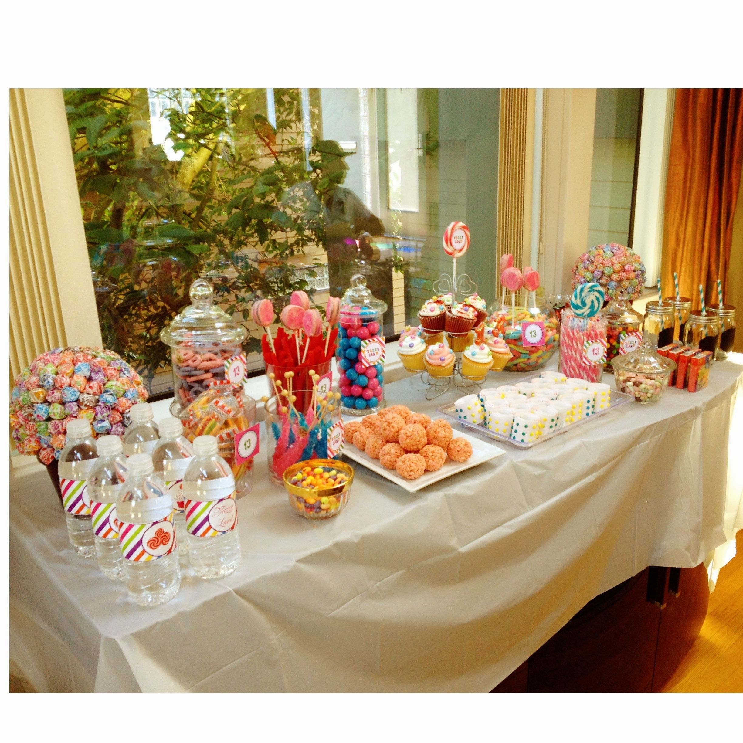 Candy Buffet Ideas For Desiree's Sweet Sixteen (use Www