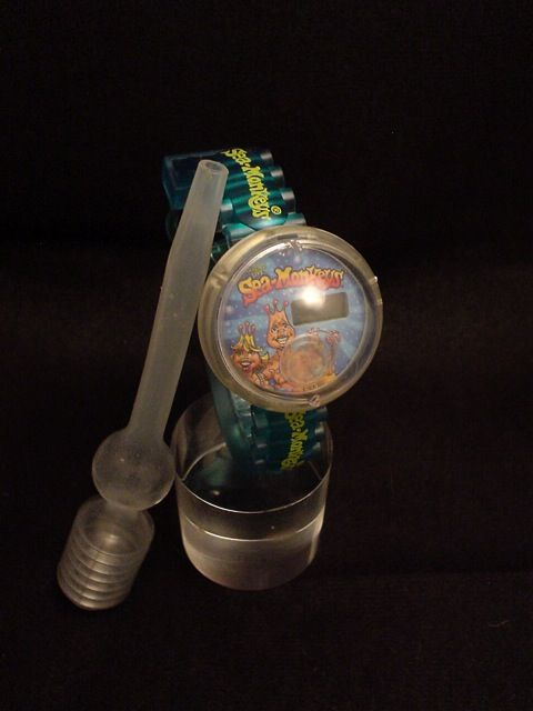 Sea Monkey Watch Sea Monkeys Aquarium Wristwatch Sea Monkeys