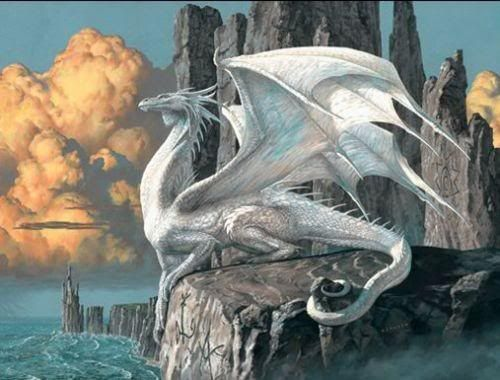 Dragon Riders of Pern(White Dragon) - I so want one!