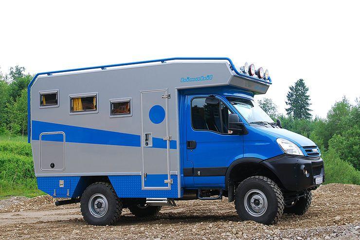 Bimobil ex 345 und husky 280 allrad wohnmobile f r die for Badezimmer 5000 euro