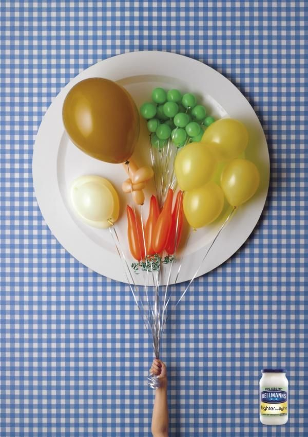 the print ad titled balloons was done by ogilvy mather london advertising agency for - Ogilvy Mather Ad Agency