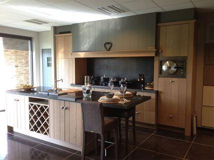 Houten keuken te koop for Ouderwetse keuken te koop