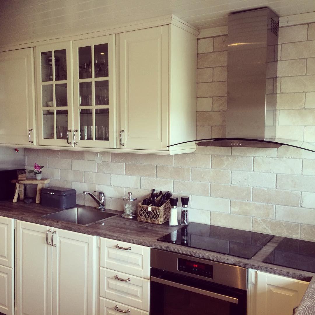 Ikea bodbyn kitchen Trendy kitchen backsplash