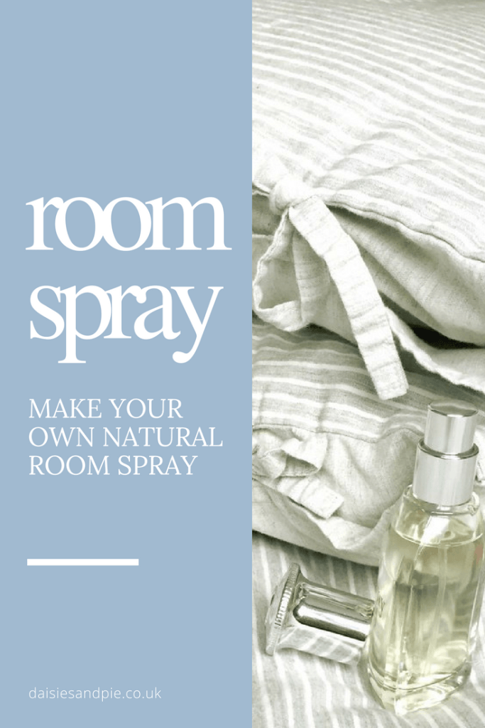 How to make your own natural room spay with essential oils, homemaking tips from daisies and pie