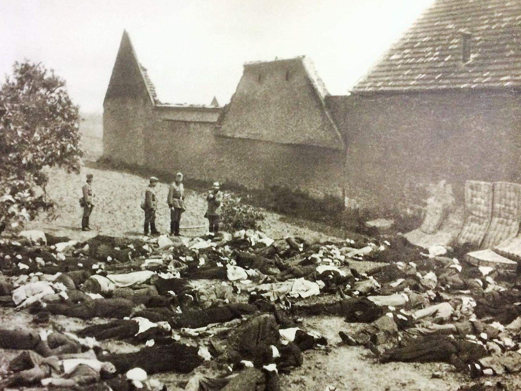 Resultado de imagen para masacre de lidice fotos