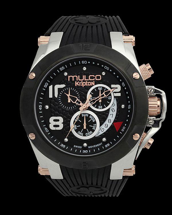 relojes mulco kripton mw5 2029 025 reloj watches mulco unisex swiss chronograph kripton silicone strap watch watches jewelry watches macy s