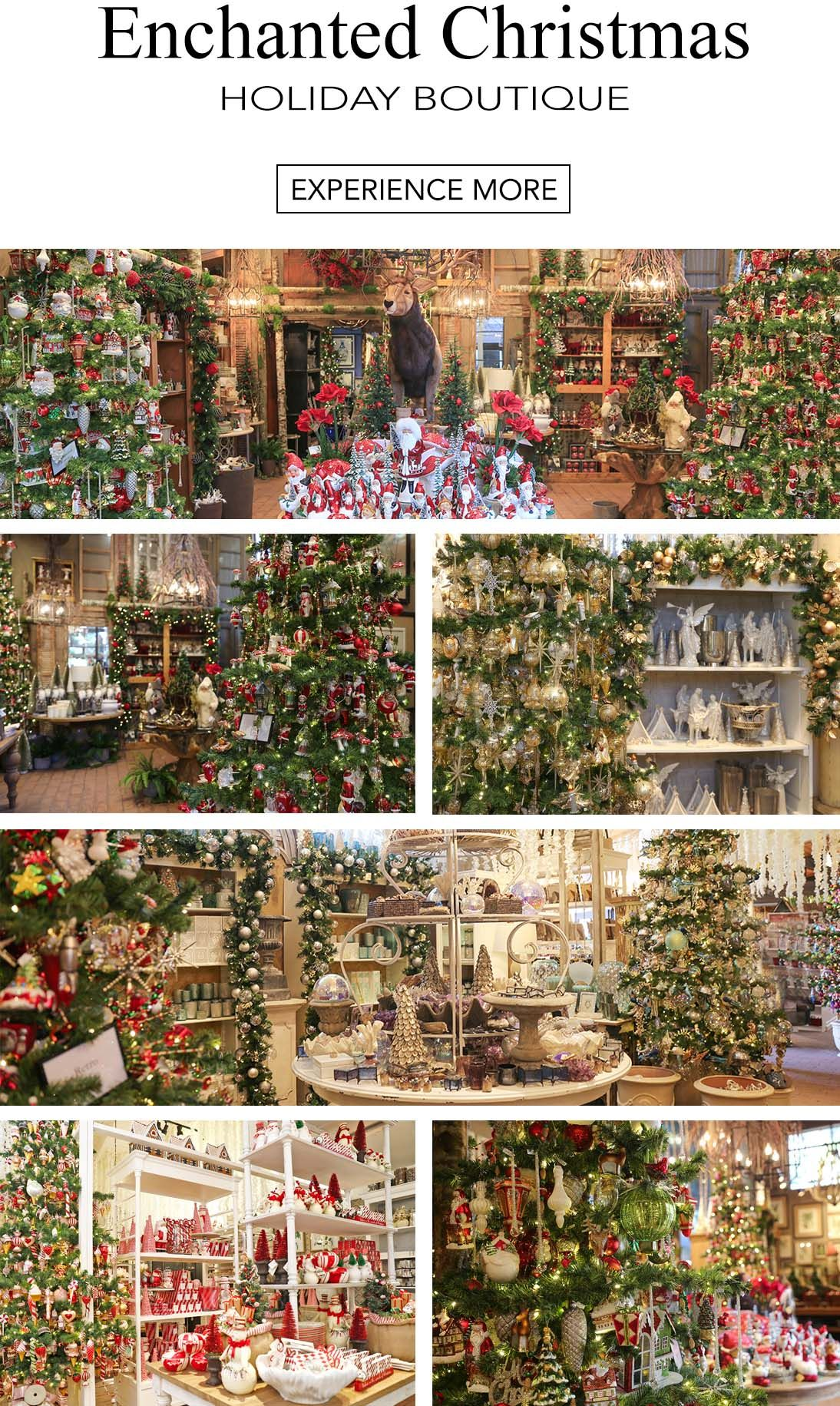 When Does Rogers Gardens Decorated For Christmas