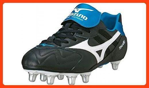 Timaru Rugby Boots Black White Blue Partner Link Rugby Boots Black Boots Boots