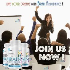Take care of your Brain and your Pocket. Try Brain Abundance & Brain Fuel Plus!    http://ely.BrainAbundance.biz