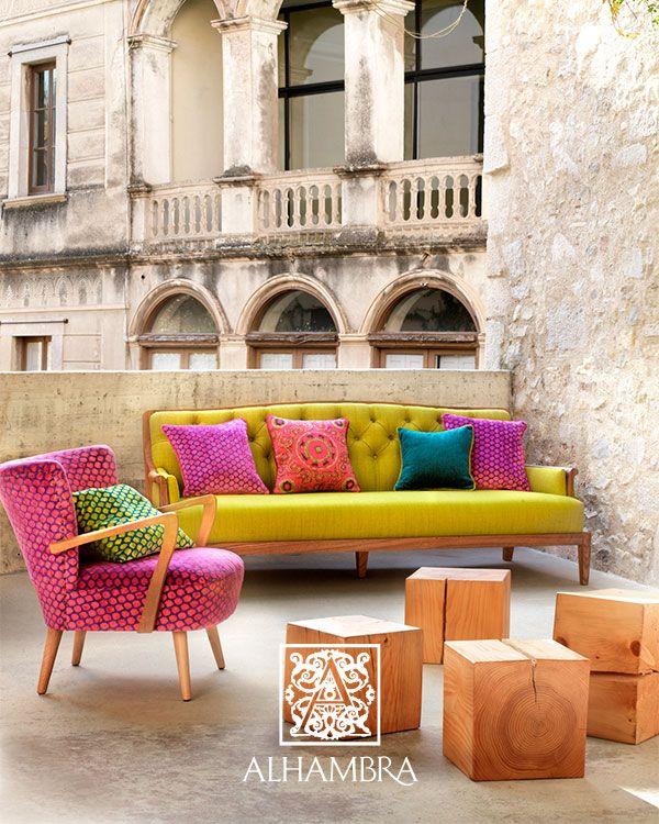 4 atrevidas combinaciones de tapicer as de sillones y cojines tapizado tela y sillones - Dulce hogar villalba ...