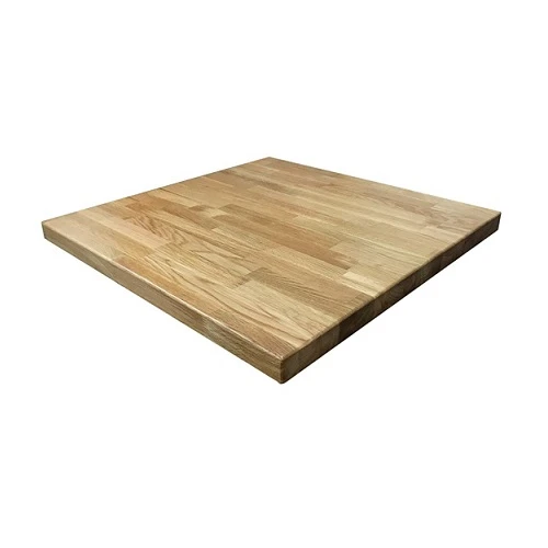 American White Oak Natural Finish Butcher Block Table Tops In 2020 Butcher Block Table Tops Restaurant Table Tops Butcher Block Tables