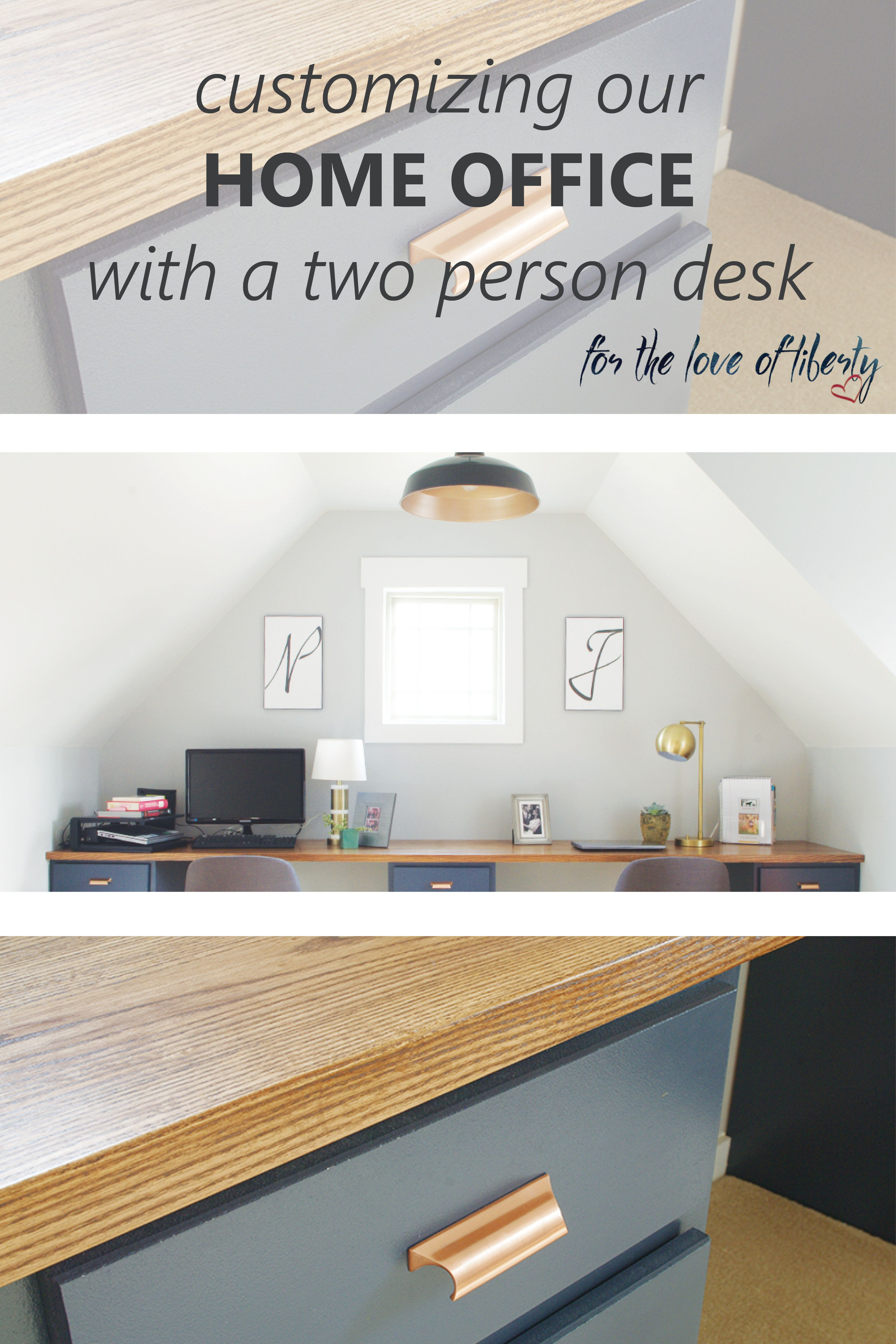 Customizing Our Office Space | Office works, Desks and Spaces