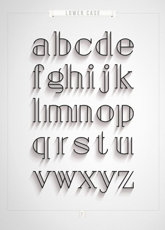 Font of the day: London
