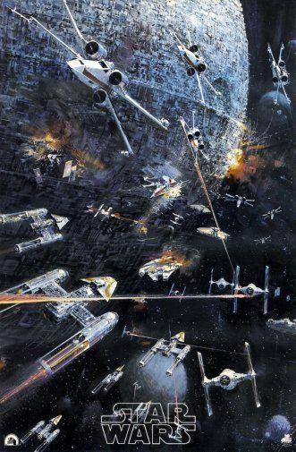 Star Wars Millenium Falcon Poster 24inx36in
