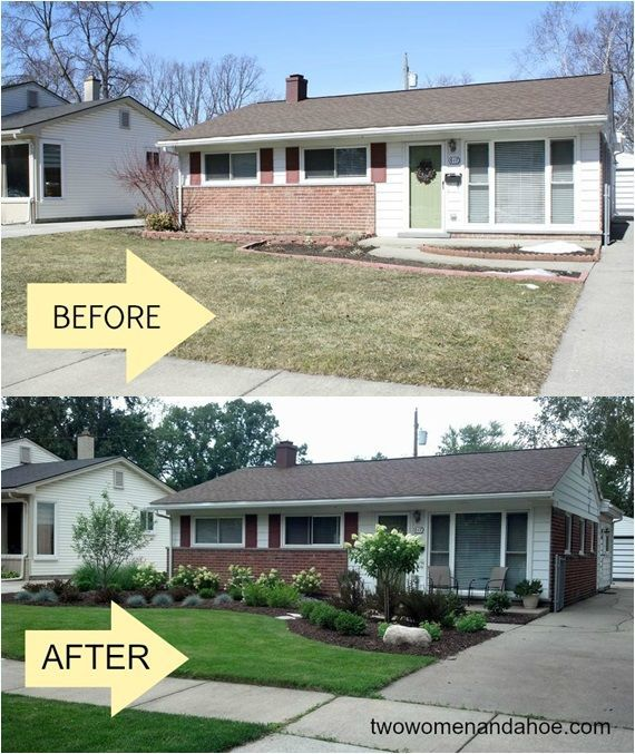 blooming change pinned with pinvolve also beauty front yard landscaping ideas for ranch style homes erins rh pinterest