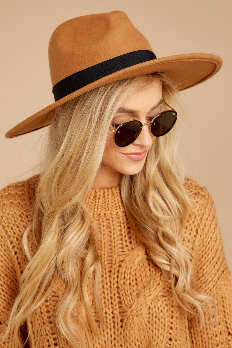 6c90004c88346 Take Me Walking Tan Hat   Accessories   Tan hat, Dress hats, Outfits ...