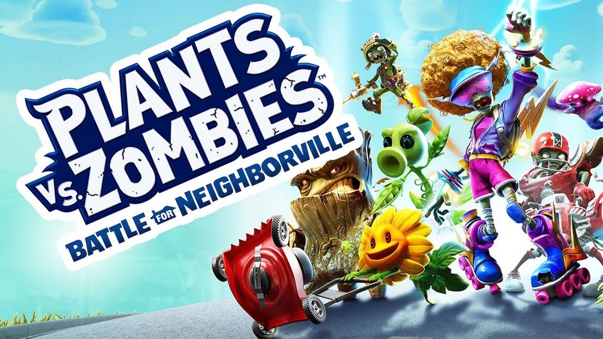Plants Vs Zombies Battle For Neighborville Ja Esta Disponivel Zombies Playstation Xbox One
