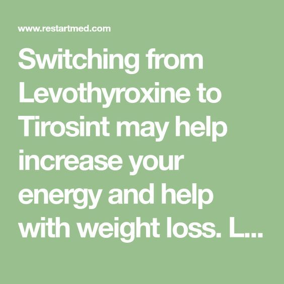 Switching from Levothyroxine to Tirosint may help increase your energy and help with weight loss. Learn how I use Tirosint and why it may help you here.