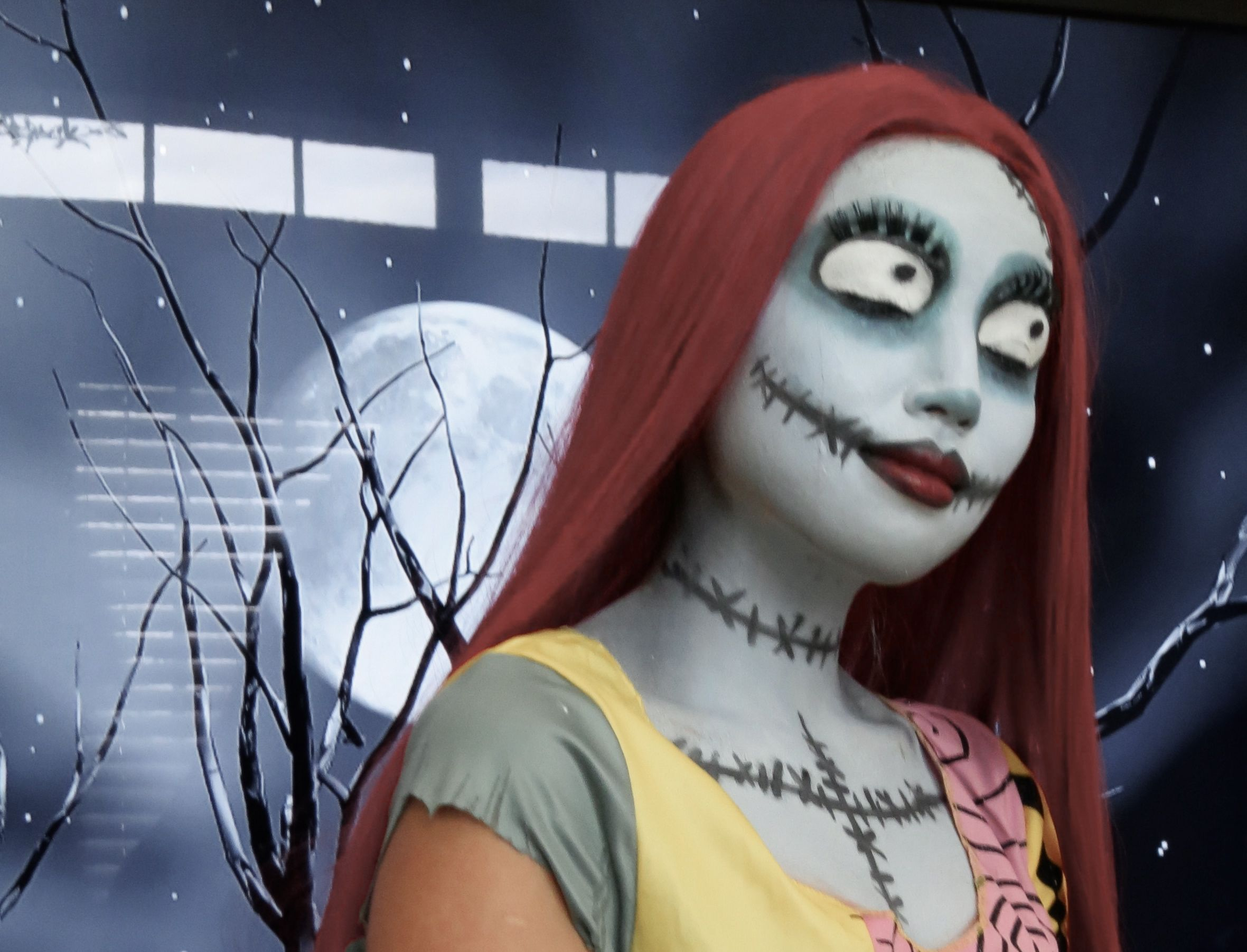 Sally from Nightmare before Christmas..Tutorial coming