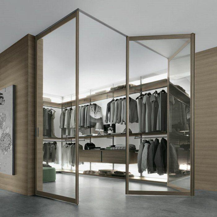 Kleiderschrank design  kleiderschrank design offener kleiderschrank beleuchtung ...
