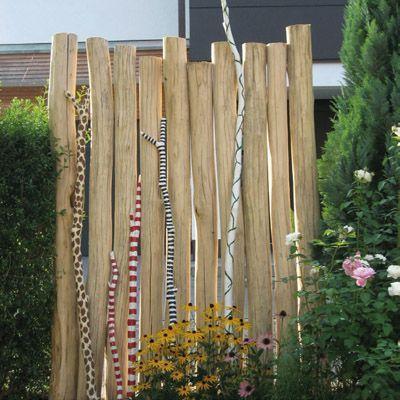 Robinienholz Stamm Geschliffen 12 16 2 0 Garden Fences Garden