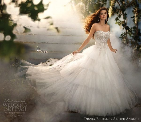 New Disney Fairy Tale Weddings by Alfred Angelo u Princess Bridal Gowns