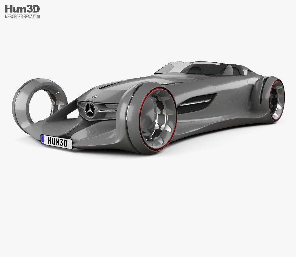 3d Model Of Mercedes Benz Silver Arrow 2016 Mercedes Benz Benz 3d Model
