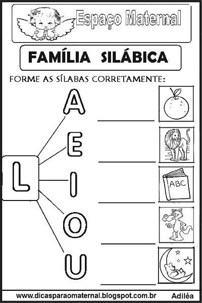 Atividades Com As Familias Silabicas Para Imprimir E Colorir Espaco Maternal Atividades Letra E Atividades De Alfabetizacao Pre Escolar Atividades De Silabas