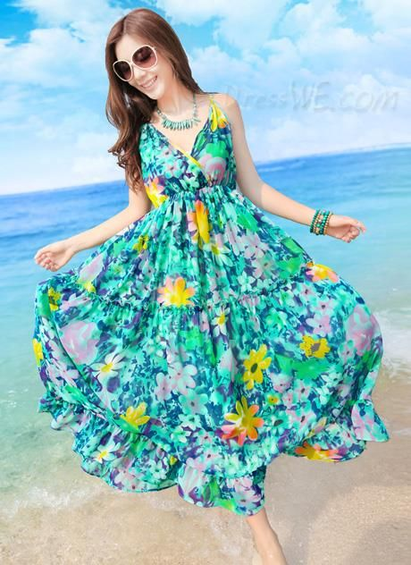 Vestidos Largos Para Playa Estilos De Vestidos Vestidos