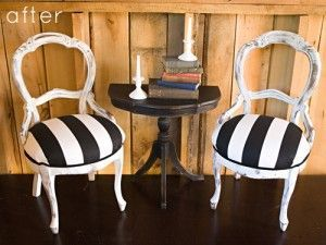 A Pair Of Chairs Made New Again