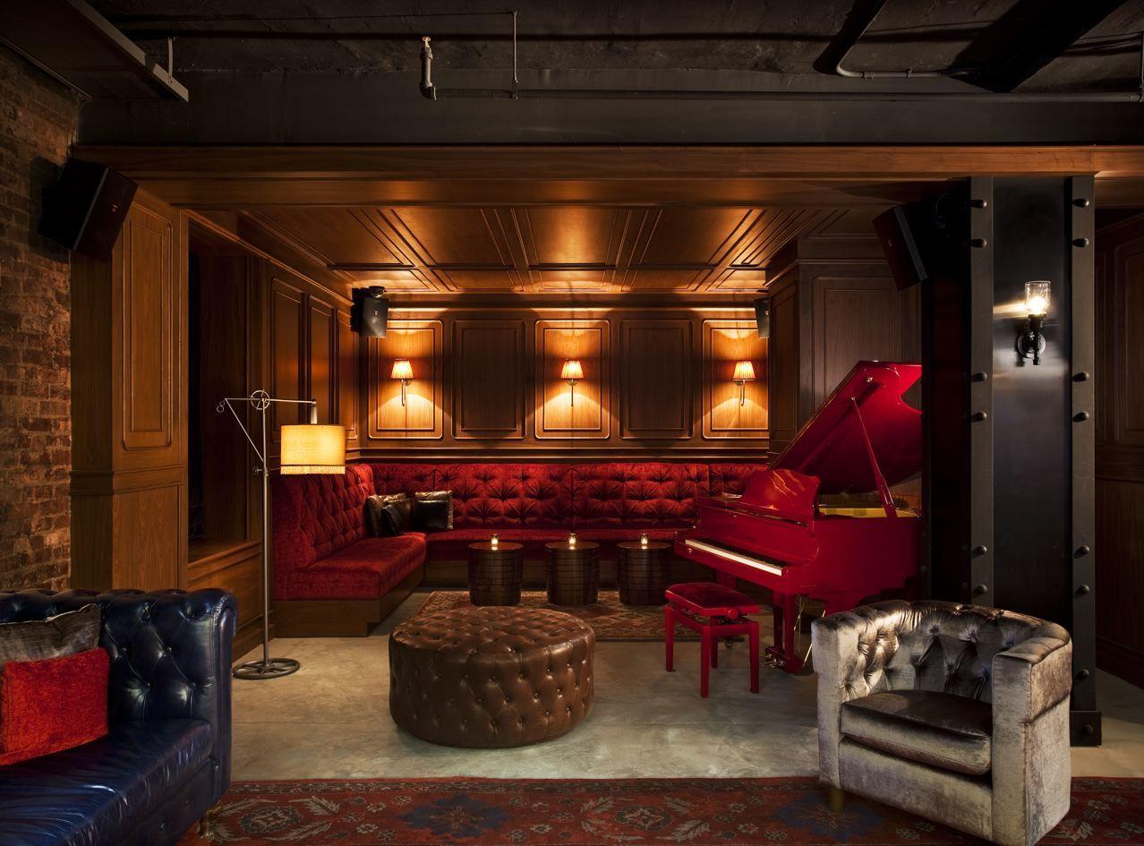 Lobby Piano Lounge Nylo York City