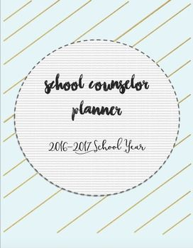How To Write A Cover Page This School Counselor Planner Includes The Following Cover Page .