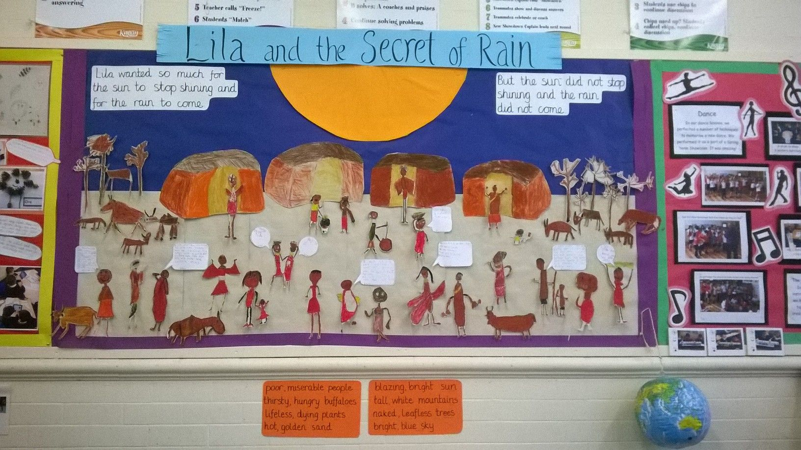 Display Board Of Lila And The Secret Of Rain
