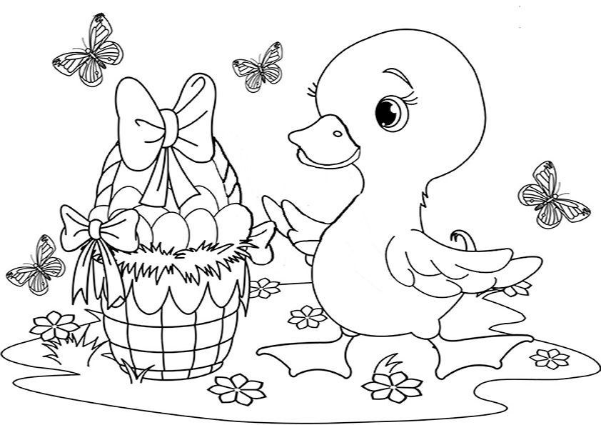 Gratis ausmalbilder ostern Ostern