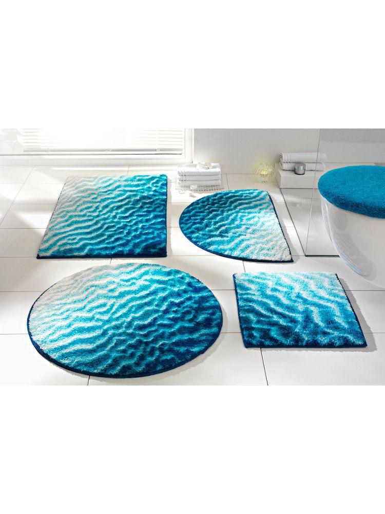 Grund Tapis De Bain Bleu Mer Original Voir Notre Selection Ici Http Www Idee Deco By Helline Fr Les Tapis Bain Originaux House