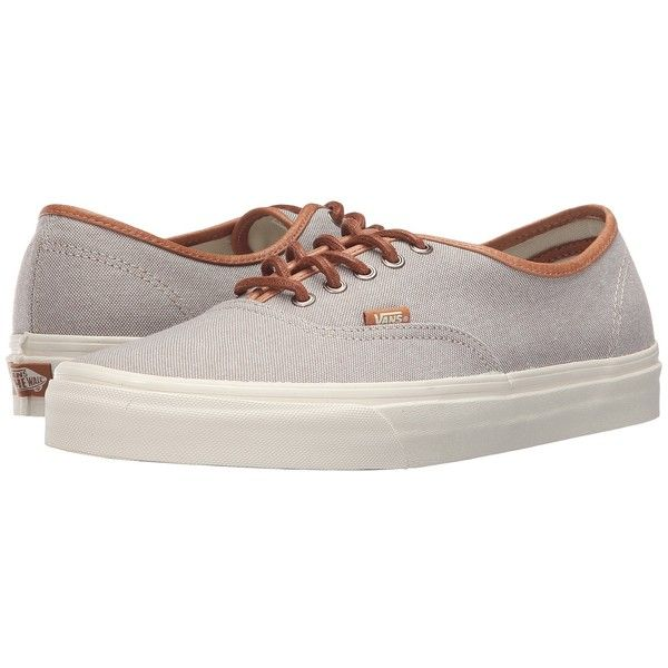 Vans Authentic DX ((Brushed) Desert Taupe/Turtledove) Men's Skate...  (803.700 IDR) ❤ liked on Polyvore featuring men's fashion, men's shoes, men's  sneakers ...
