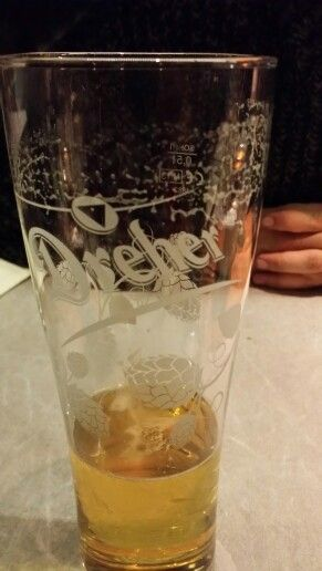 Hungarian local beer