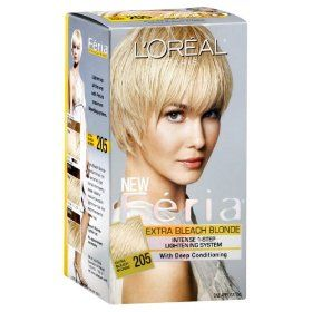 L Oreal Feria Pure Intense Lightening Kit Blonding Extra