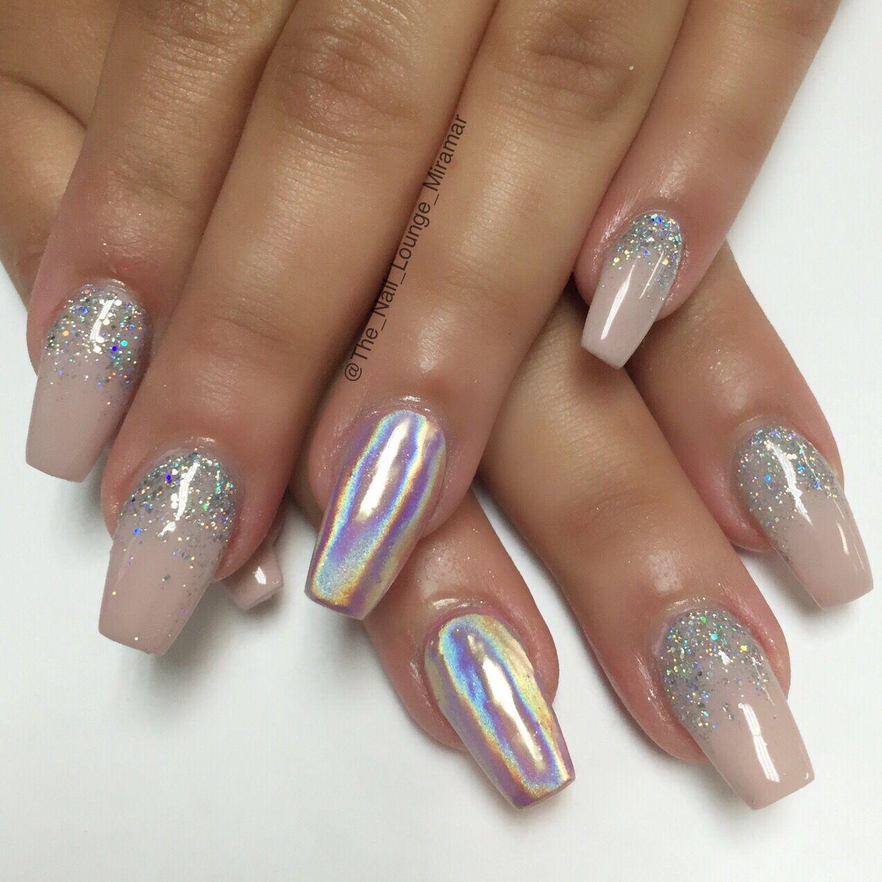 Chrome Acrylic Nail Designs